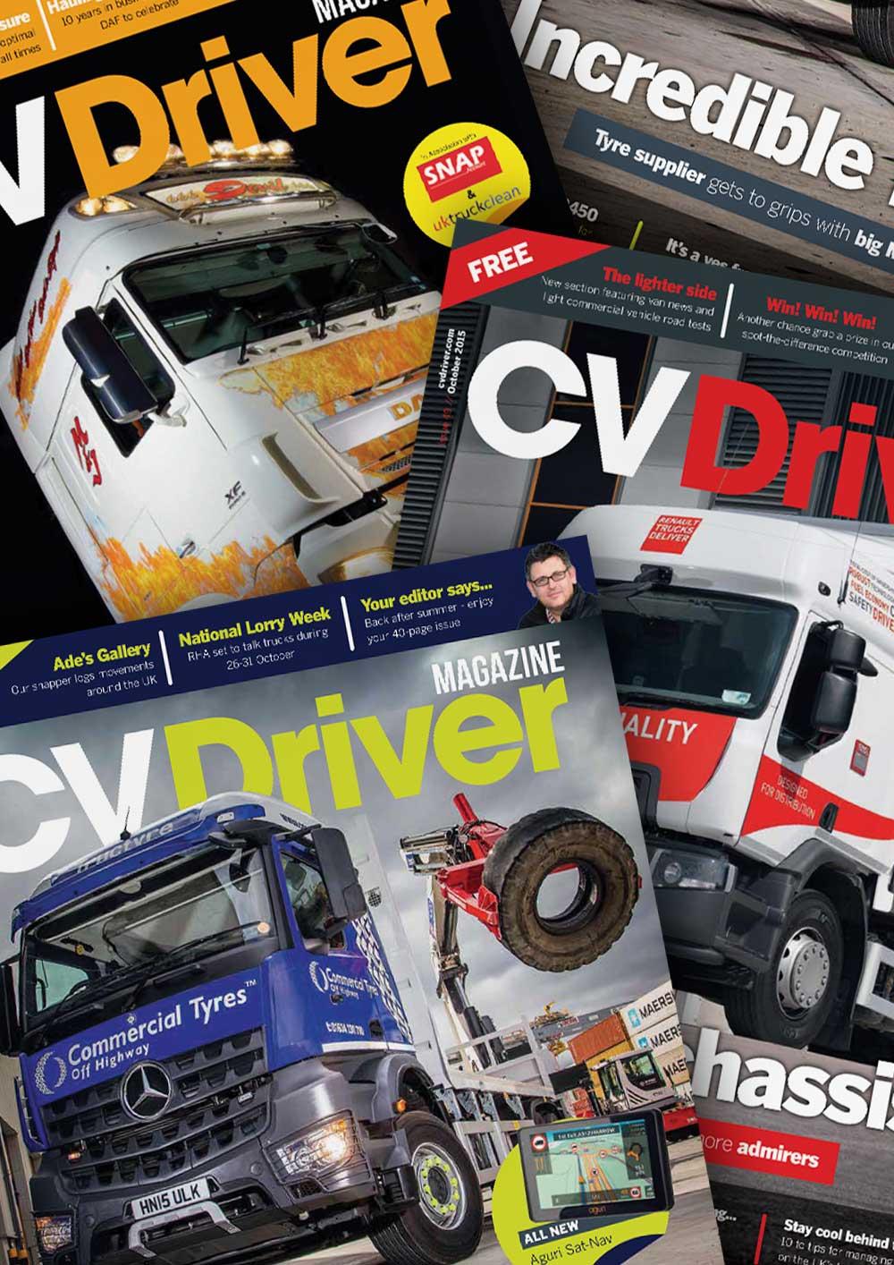 CV Driver Magazine Previous Months