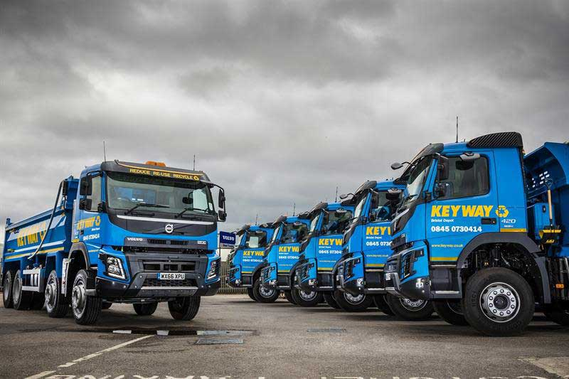 Keyway extends fleet with a switch to Volvo - CV Driver