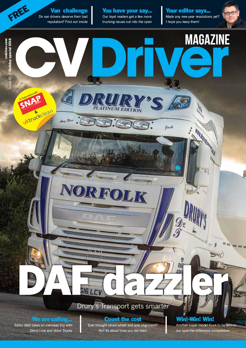 CV Driver Holiday Special 2016