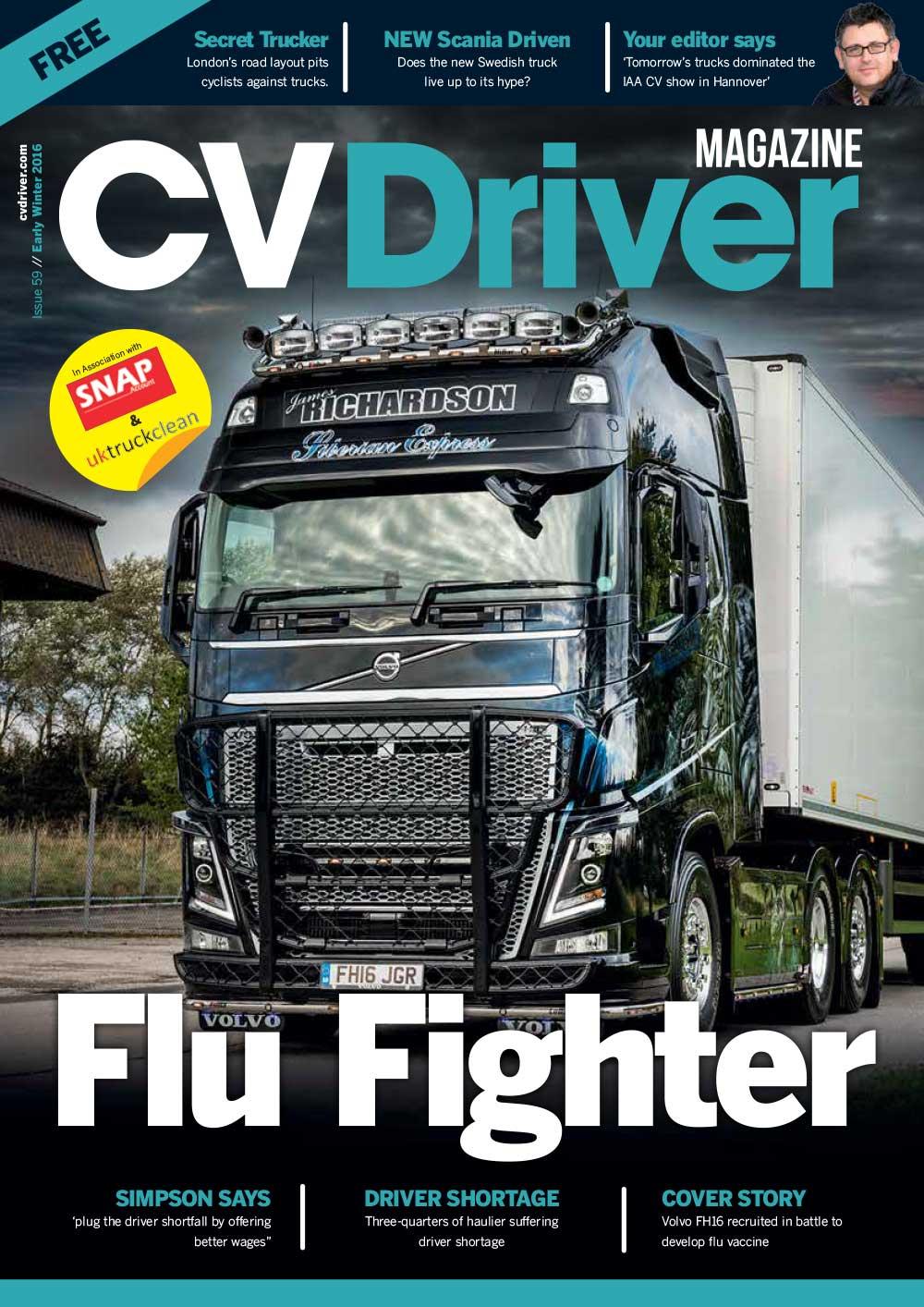 CV Driver October 2016
