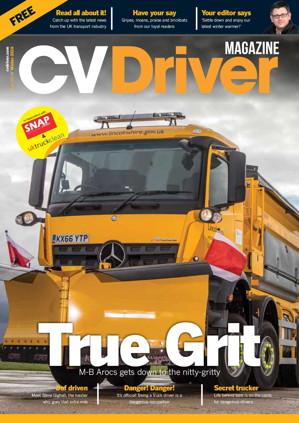 CV Driver Winter 2016