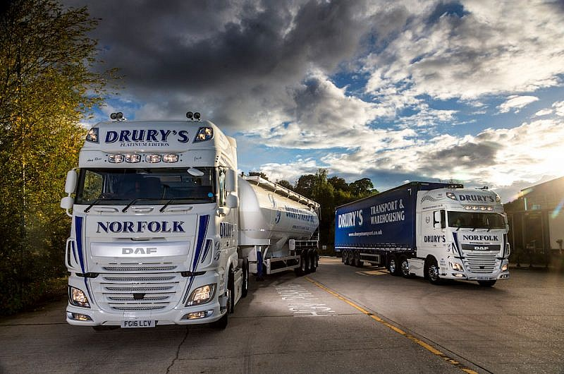 Drury's Transport DAF