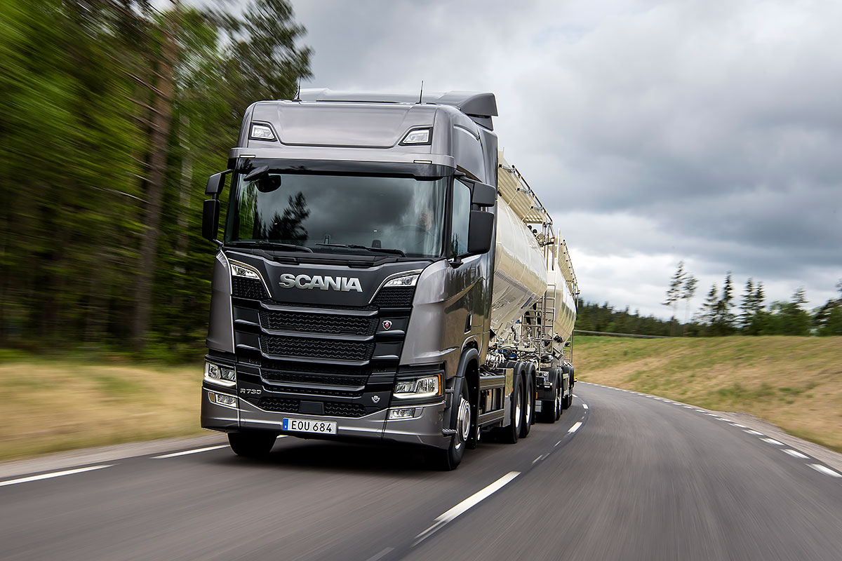 scania delivers