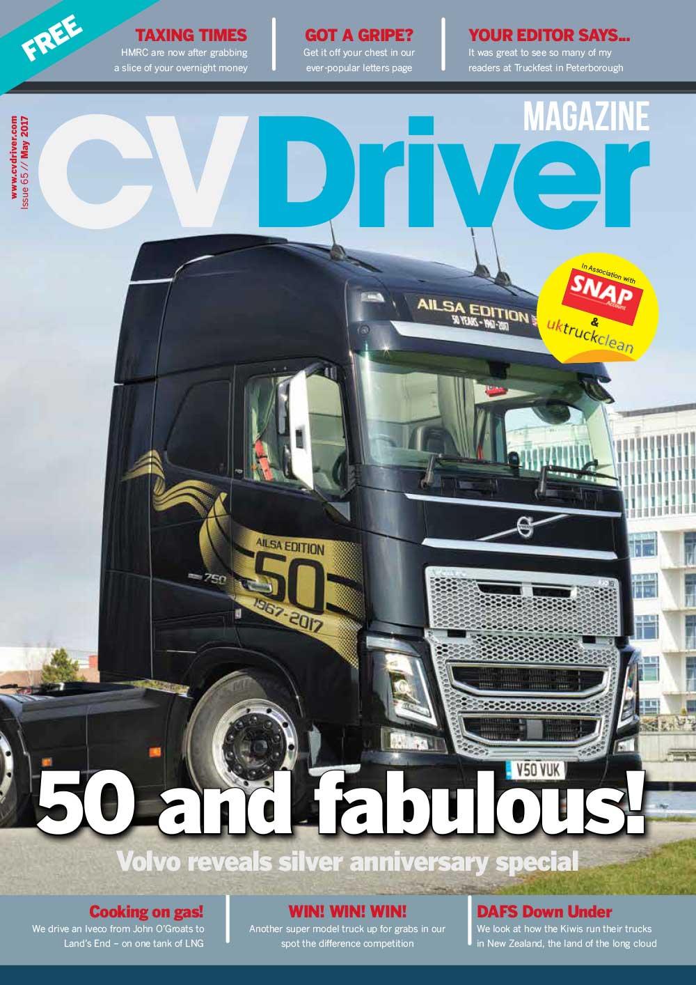 CV Driver May 2017