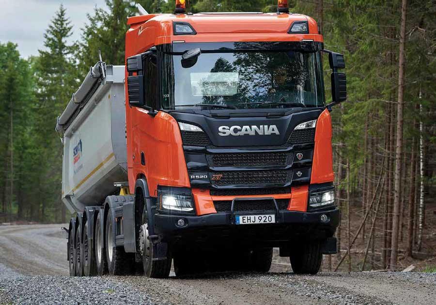 scania heavy tractor