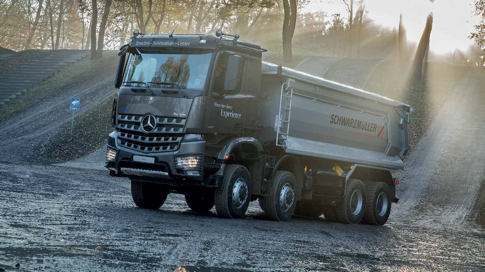Mercedes-Benz Arocs - Tough as Nails - there are 14 different cabs