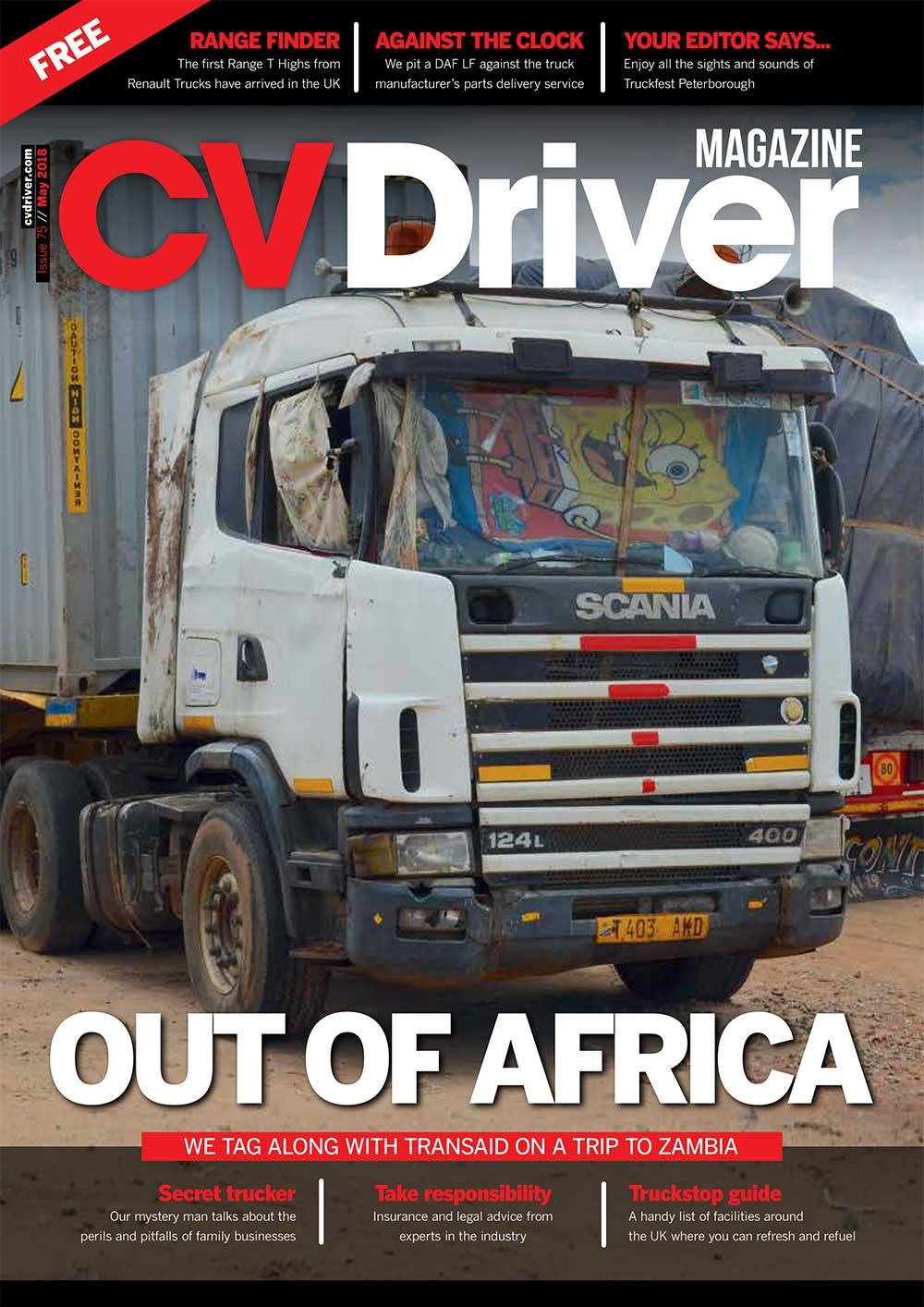 CV Driver May 2018