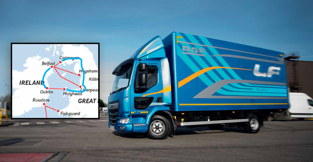 The Race - in the all new DAF LF City
