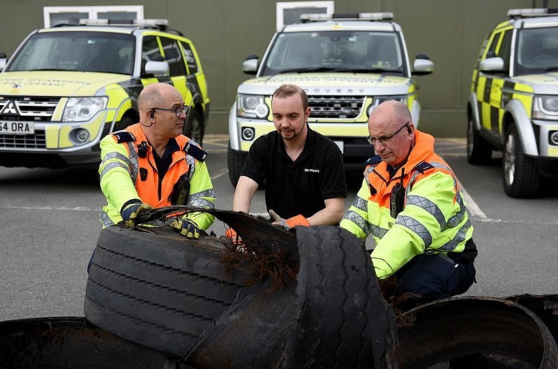 Tyre related deaths and injuries preventable say Highways England and Bridgestone