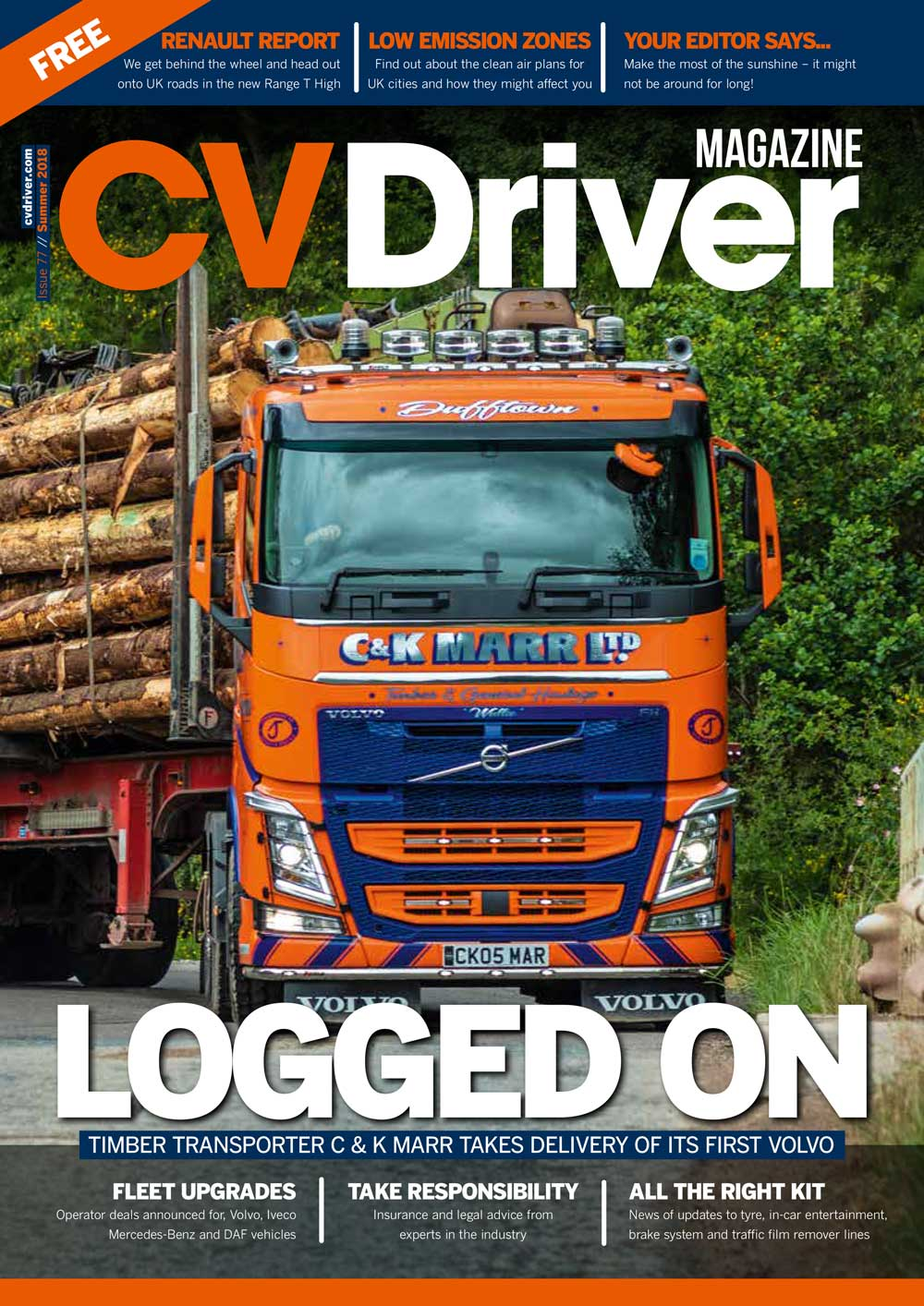 CV Driver Summer 2018