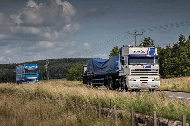 Back in the Heyday with the DAF 3300 ATi