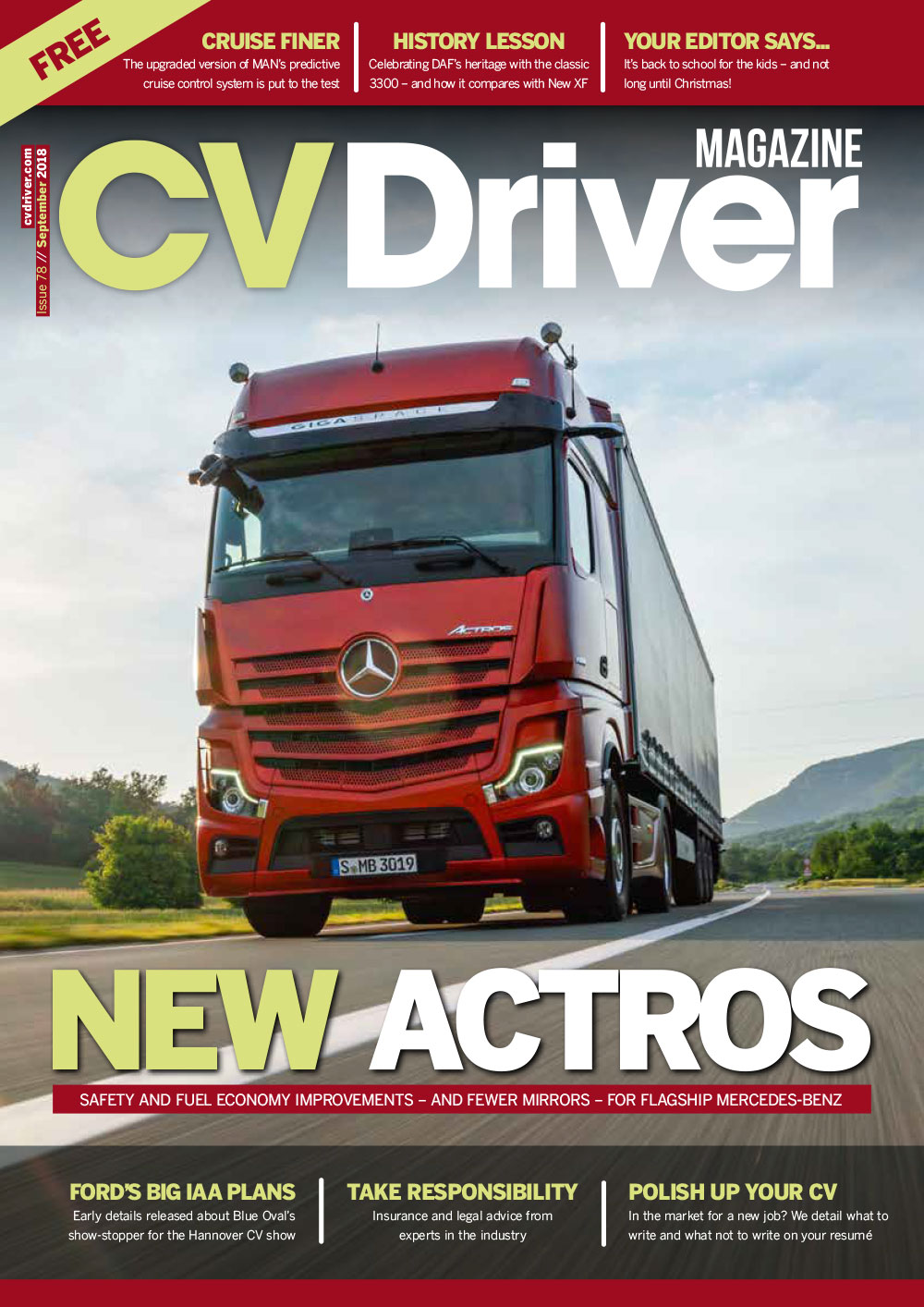 CV Driver September 2018 Issue 78