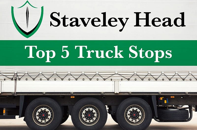 Staveley Head Insurance's-Top 5 Truck Stops