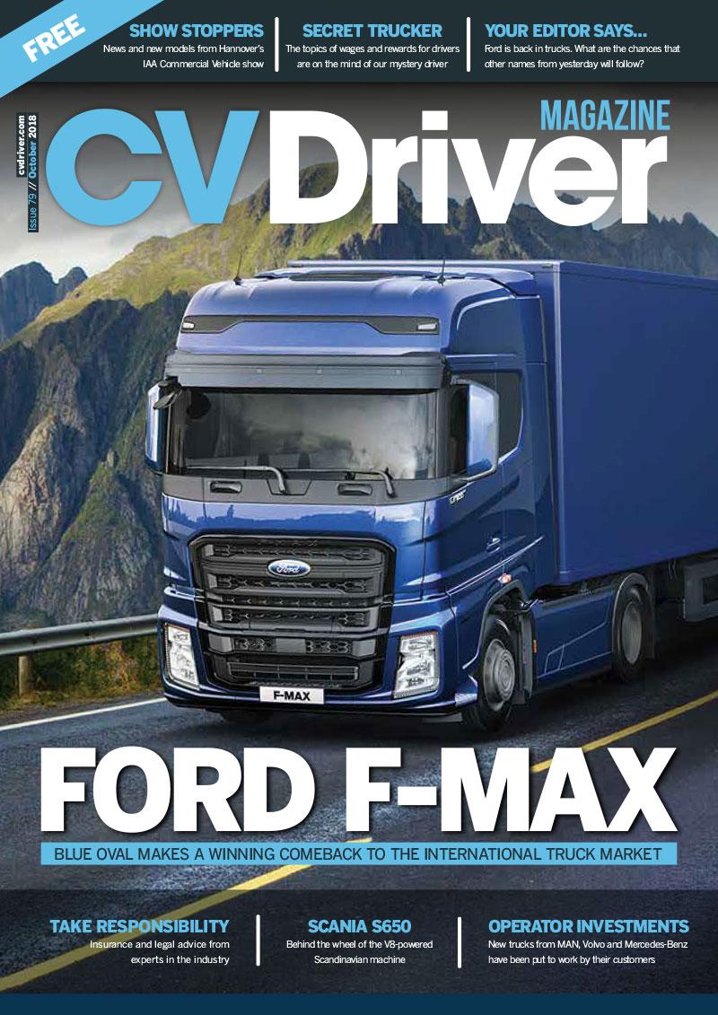 CV Driver October 2018