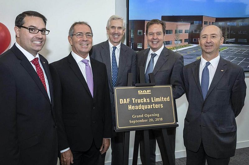 DAF Trucks UK opens £20 million head office in Haddenham