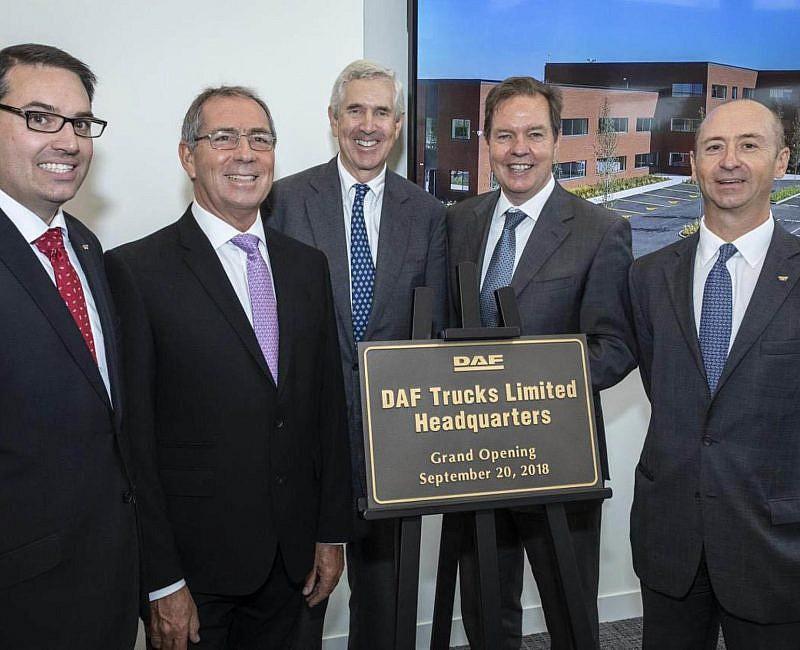 DAF opens New HQ