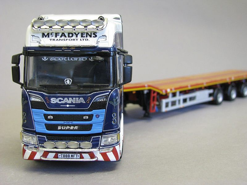 McFADYENS KEEPING IN STEP! with limited edition collectible model