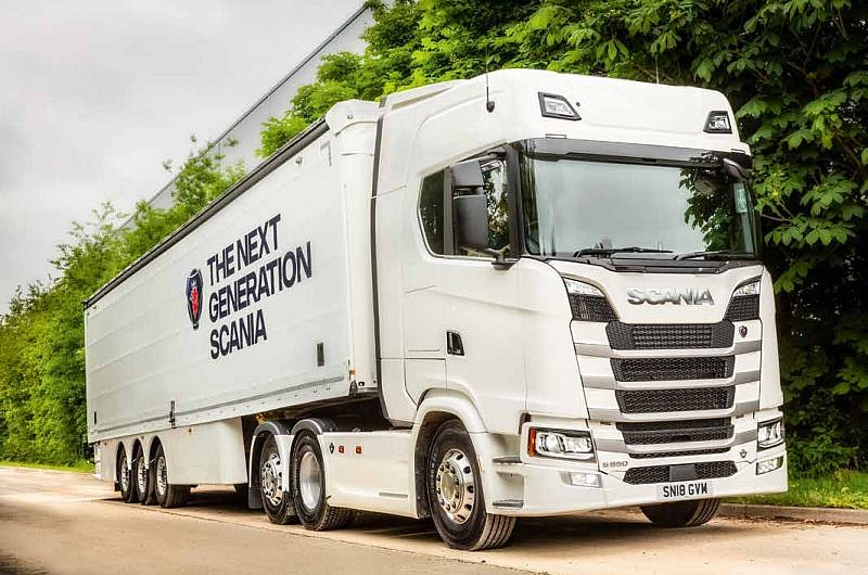 Scania's new S650