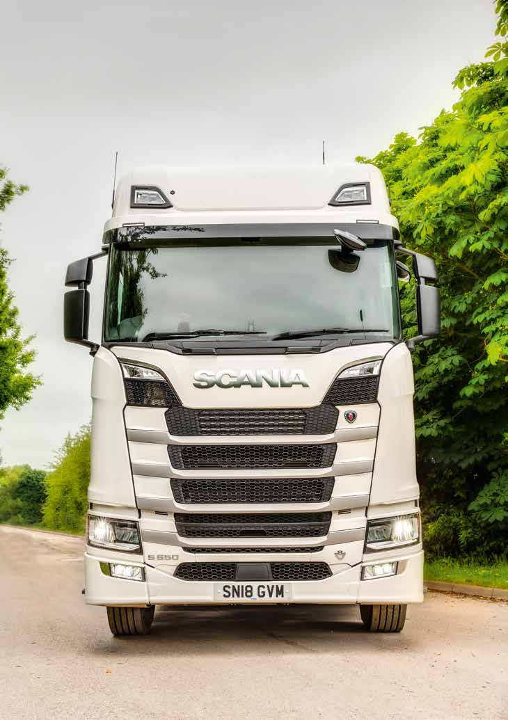 Practise makes perfect - Scania's new S650 on the road