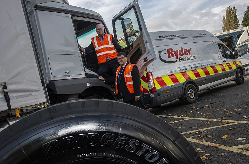 a42102f36af405 Ryder and Bridgestone renew industry-leading partnership