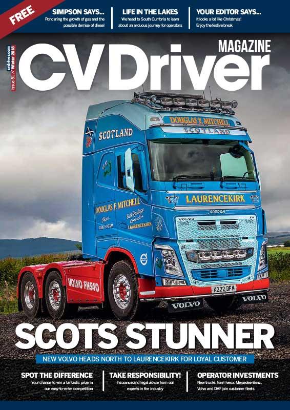 CV Driver Winter 18
