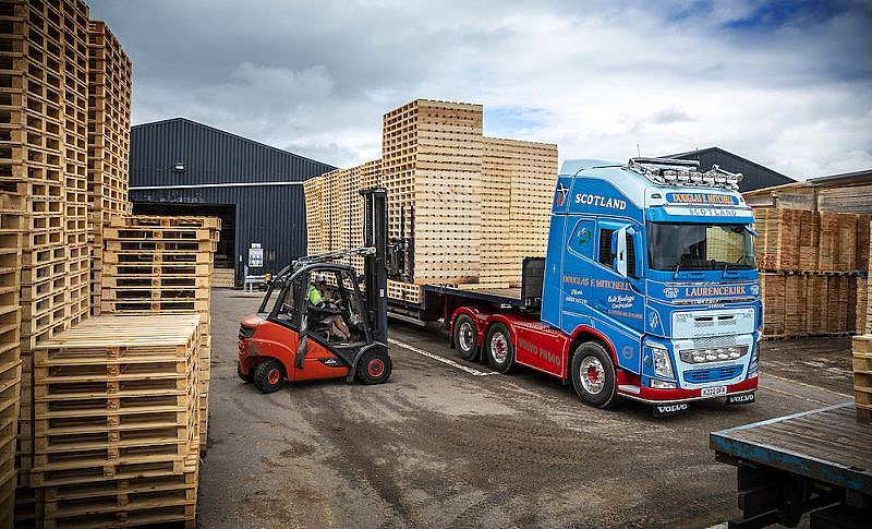 New Volvo FH ready for business at Douglas F Mitchell
