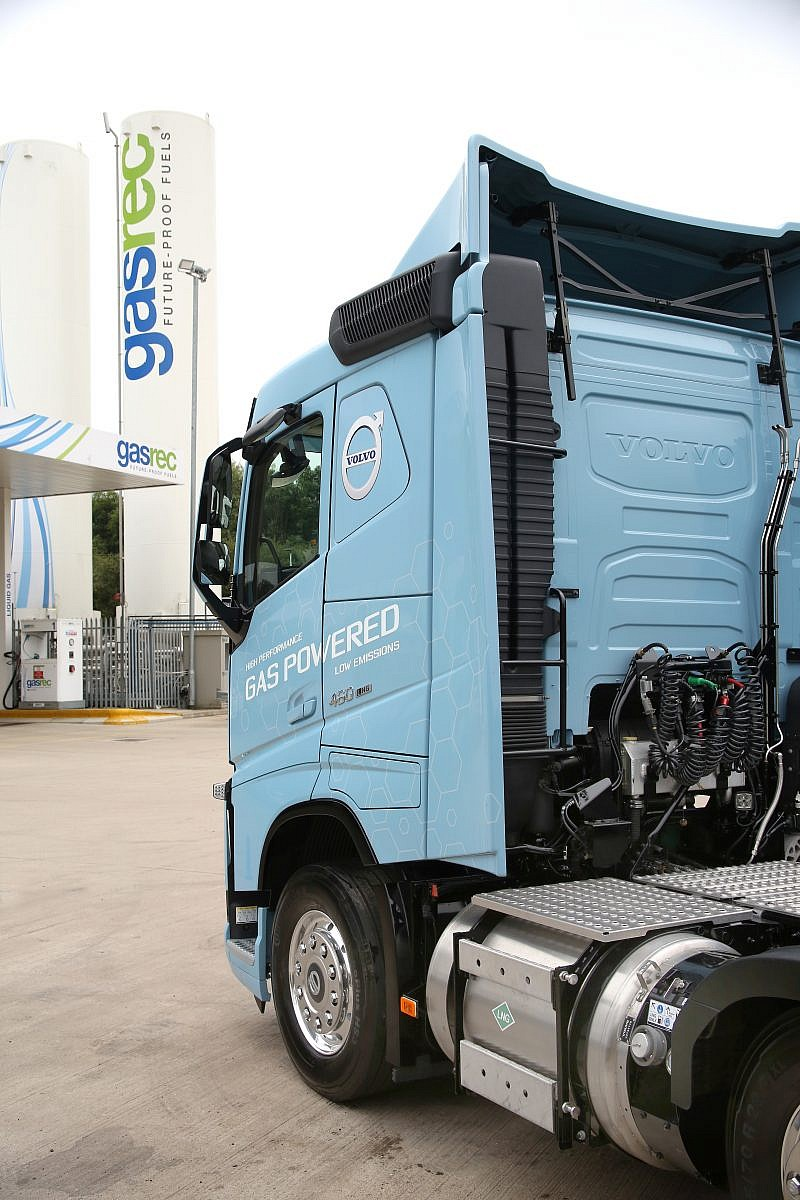 GASREC offers fleets high C02 savings on LNG