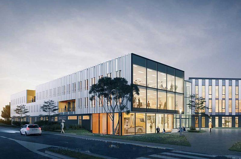 Renault Trucks eco friendly R&D centre in St Priest, Lyon, France