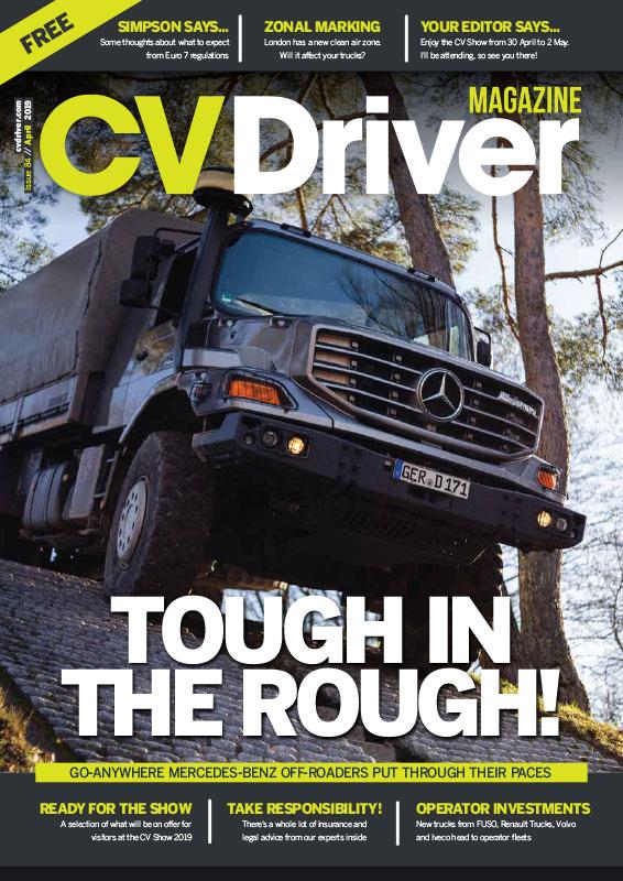 CV Driver April 2019