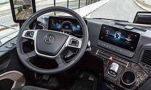 Commercial Vehicle Driver MagazineJune 2019 Cam in the mirror Mercades Benz Actros Review Verdict Image