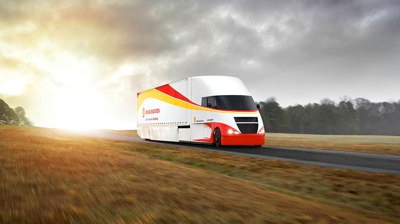 Fuel Efficiency for Trucks Starship-project- CV Driver